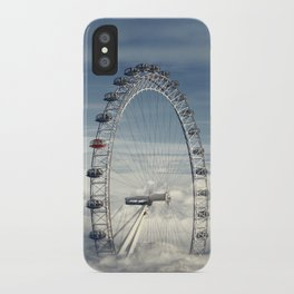 Ride Above the Clouds iPhone Case