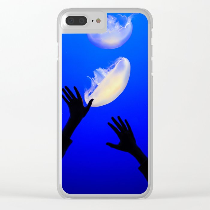 Reach the Light Clear iPhone Case
