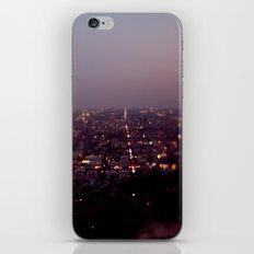 Angel City Lights, L.A. at Night (No. 2) iPhone & iPod Skin