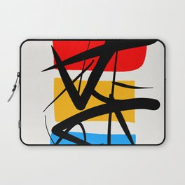 Synchronicity Abstract Art Minimalist in the zen spirit Laptop Sleeve