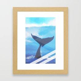 WHale Case Framed Art Print