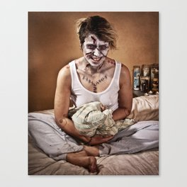 possessed Canvas Print