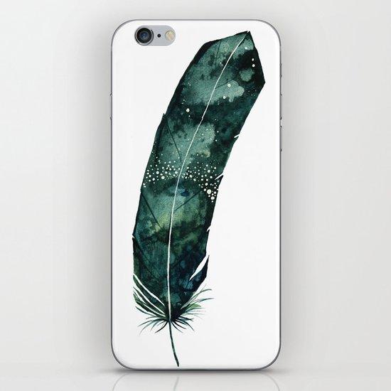 Galaxy Feather iPhone & iPod Skin