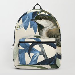 Little Bird and Flowers II Backpack