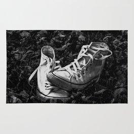 Abandoned Converse Rug