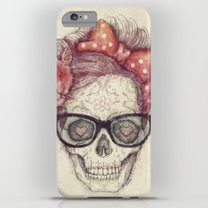 Hipster Girl is Dead iPhone 6s Plus Slim Case