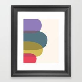 Cacho Shapes XIII Framed Art Print