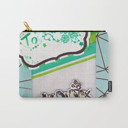 Multi-Function Card Design Carry-All Pouch