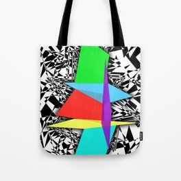 Color Sculpture Tote Bag