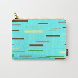 Floating Planks Carry-All Pouch