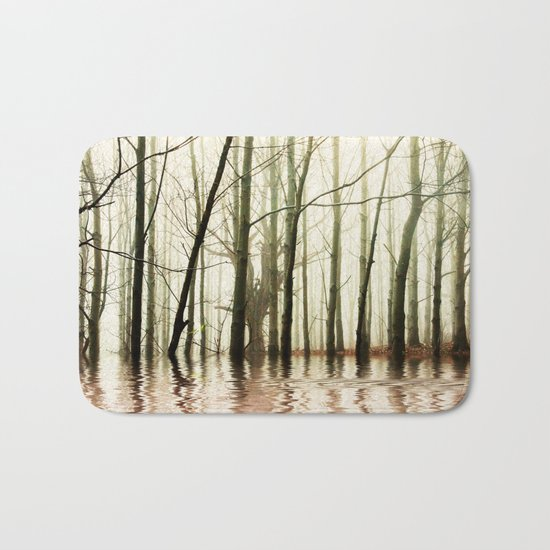 GHOST TREES Bath Mat