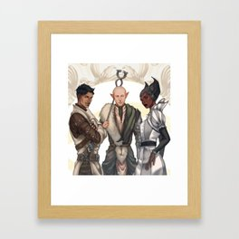 Mages of the Inquisition Framed Art Print