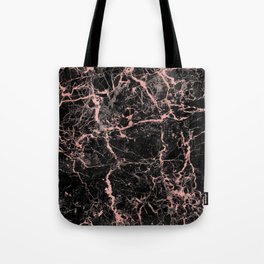 Marble Rose Gold - Someone Tote Bag