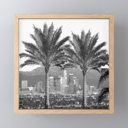 LA Palms Framed Mini Art Print