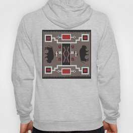 American Native Pattern No. 161 Hoody
