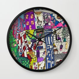 At Home Again! Wall Clock
