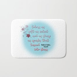 Trapped into stars | Caraval Bath Mat