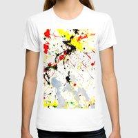 splatter T-shirts featuring Paint Splatter  by Gravityx9