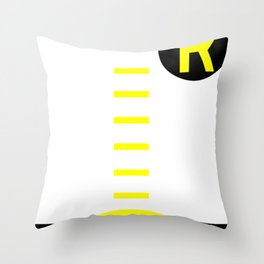 Holy Cheeseburgers! Throw Pillow