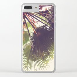 Palm Top Clear iPhone Case