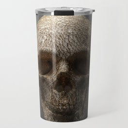 Golden Skull Triangles 1 Travel Mug