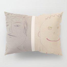 Jared and Alex Self-Portraits 2018 Pillow Sham