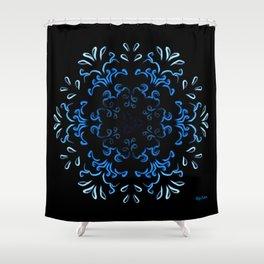 """Hakakā a hohonu"" (lucha profunda en invierno) Shower Curtain"