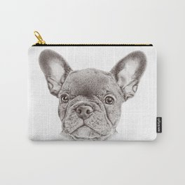Drawing of french bulldog Carry-All Pouch