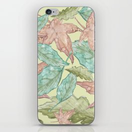 leaves 2  iPhone Skin