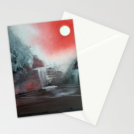 The Morning Lights the Grey River Stationery Cards