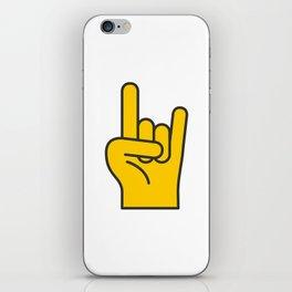 Hans Gesture - The Horns iPhone Skin
