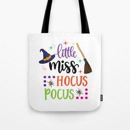 Little Miss Hocus Pocus Tote Bag