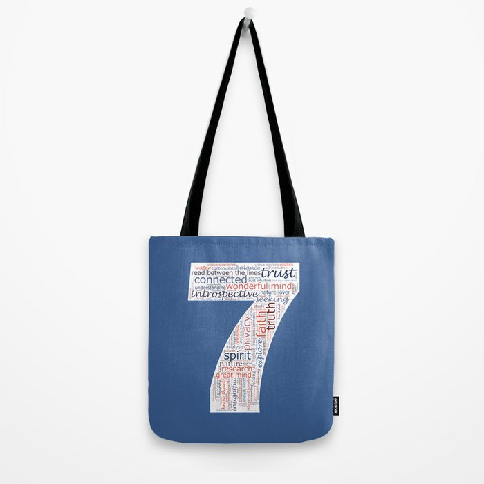Life Path 7 (color background) Tote Bag