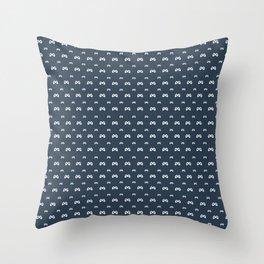 Game controller pattern Throw Pillow