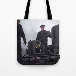 Steam locomotive 99 5902 from 1897 Tote Bag