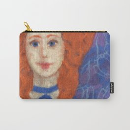 Red Hair Carry-All Pouch