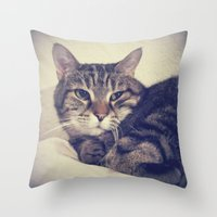 kandinsky Throw Pillows featuring Kandinsky by Nita Bond