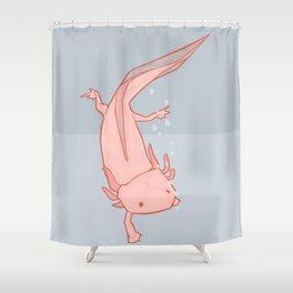 Axolotl Shower Curtain
