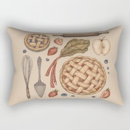 Pie Baking Collection Rectangular Pillow