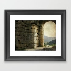 Caunos Framed Art Print