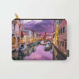 Canals of Venice Carry-All Pouch