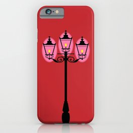 Victorian Street Light iPhone Case