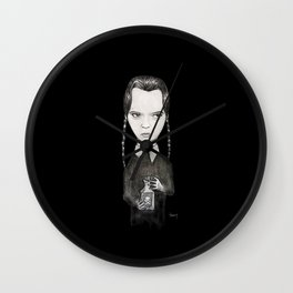 Wednesday Adams Wall Clock