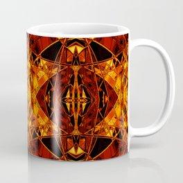 Citrine Art Deco Fantasy Coffee Mug