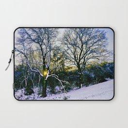 Winter Sunlight Laptop Sleeve