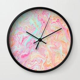 Tutti Frutti Marble Wall Clock