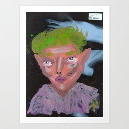 Xray Portrait 2 Art Print