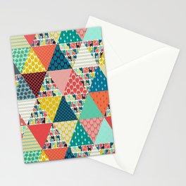 llama geo triangles Stationery Cards