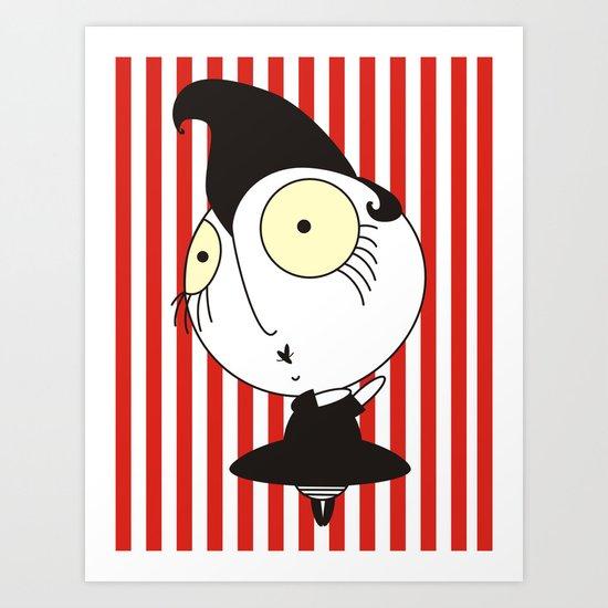 Le  cirque Art Print
