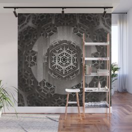 Cog Of The Machine Wall Mural
